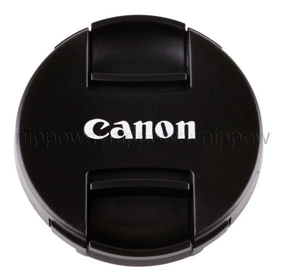Tampa Canon 58mm Lente Ef-s 18-55mm F/3.5-5.6 Is Stm Ef 85mm F/1.8 Usm Ef 75-300mm F/4-5.6 Iii Usm Ef-s 55-250mm F/4-5.6