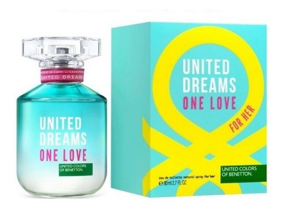 Perfume United Dreams One Love For Her 80 Ml - Selo Adipec