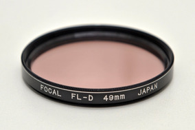 Filtro Focal Fl-d 49mm (made In Japan)