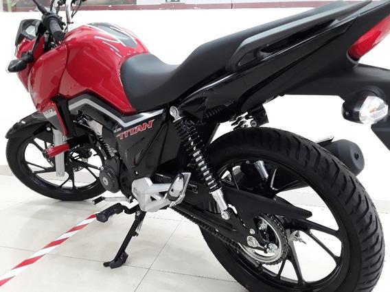 Honda Cg 160 Titan Flex Com Freios Cbs Painel Digital