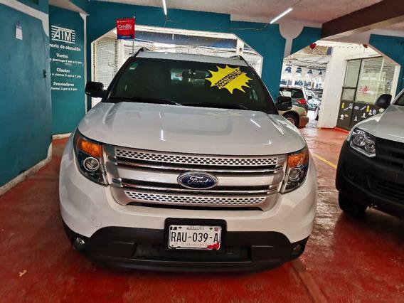 Ford Explorer 2014 5p Xlt V6 4x2 Doble A/a Piel Dvd