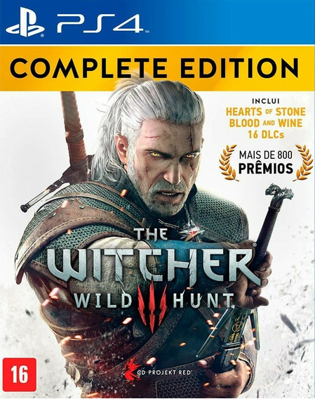 The Witcher 3 Wild Hunt Complete Edition Ps4 Digital 1 Psn