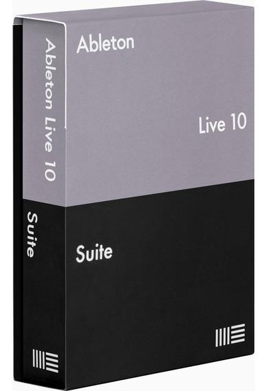 Ableton 10 Suite + 244 Max For Live Mac Win Com Suporte