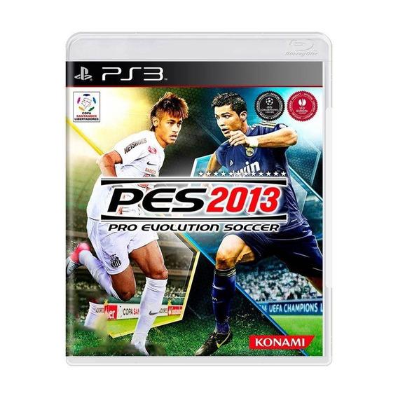 Pes 2013 Playstation 3 Ps3 Novo Lacrado Original M Física