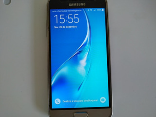 Samsung Smartphone Galaxy J3 Dourado Top Top Top