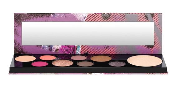 Paleta De Sombras + Iluminador Mac Girls / Risk Taker