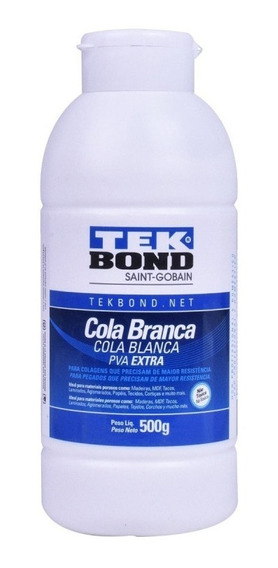 Cola Branca Pva Extra 500g 22401002301 Tekbond
