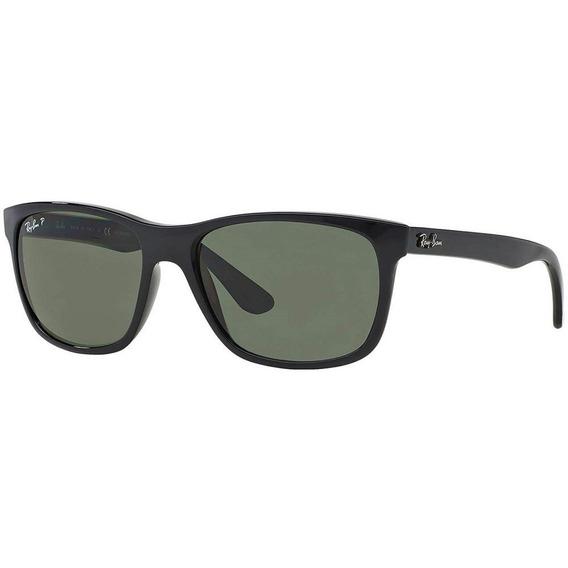 Ray-ban Rb4181 601/9a 57 - Preto/verde Clássico G-15 Polarizado