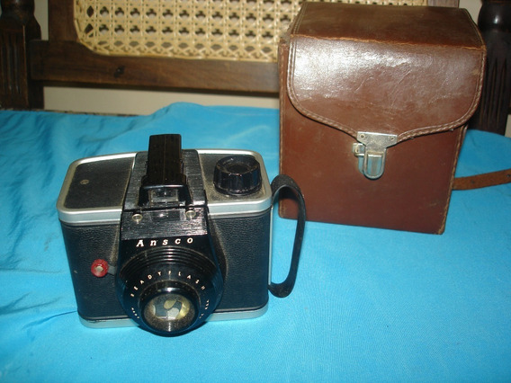 Maquina Fotografica Antiga Ansco U.s.a