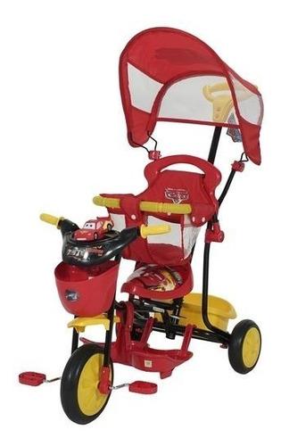 Triciclo Infantil Disney Cars Xg-8001