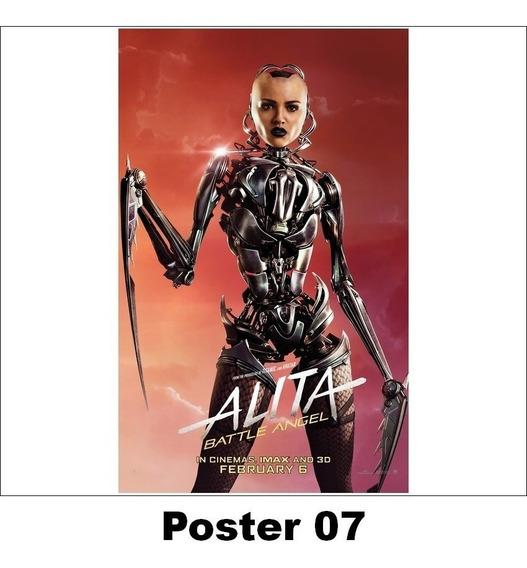 Poster Alita 30x42 Anjo De Combate (07)