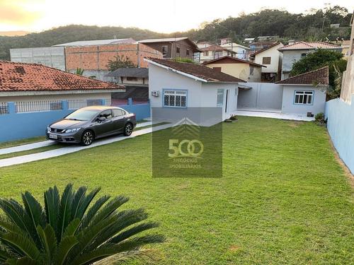 Casa Com 1 Dormitório À Venda, 60 M² Por R$ 320.000,00 - Jardim Janaína - Biguaçu/sc - Ca0308