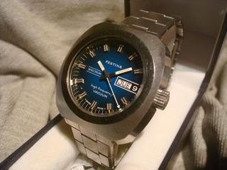 Magnifico Reloj Festina Spectrum Automatic Año 1980 New Nos!