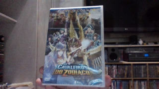 Dvd Os Cavaleiros Do Zodíaco A Lenda Do Santuário Lacrado