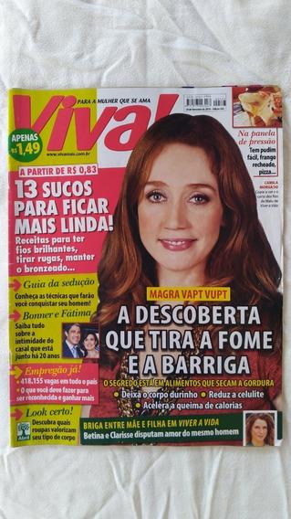 Revista Viva! Edição 543 2010 Camila Morgado