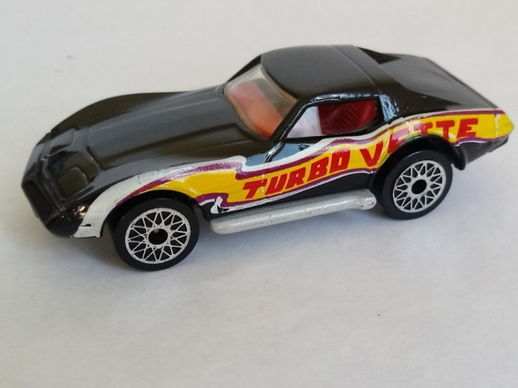 Matchbox 62d Chevrolet Corvette Aro Starburs 1/64 Superfast