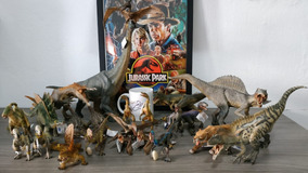 Super Combo Dinossauros Papo - Jurassic Park/ Jurassic World