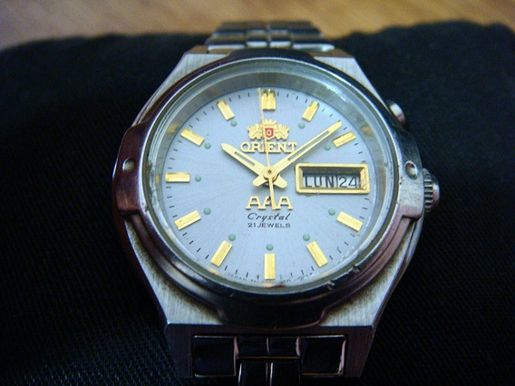 Reloj Orient Para Dama Automático Dial Color Gris.