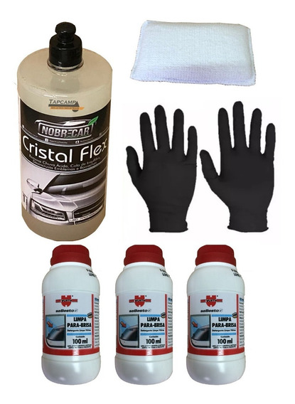 Cristal Flex Removedor Chuva Ácida + Limpa Para Brisas Wurth