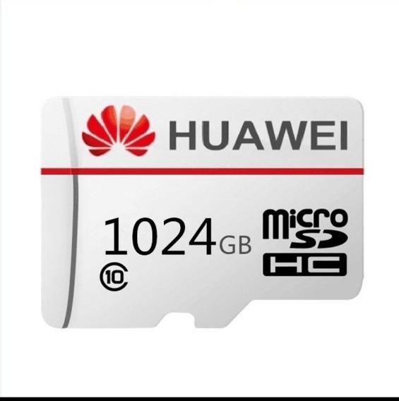 Cartão De Memória Microsd Classe 10 - 1024gb Huawei (novo)