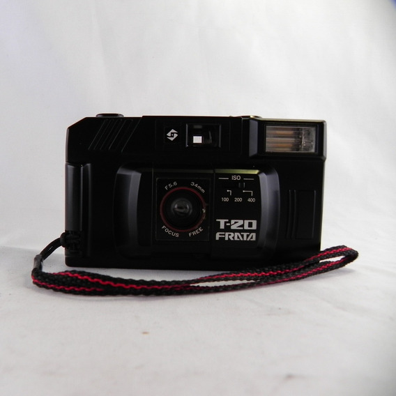 Máquina Fotográfica Antiga Frata T20 C/ Case (no Estado)