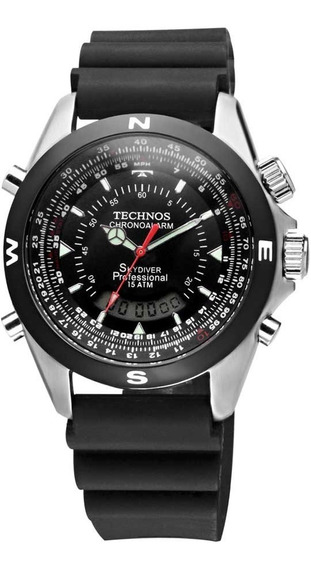 Relógio Technos Masculino Performance Skydiver T20561/8p