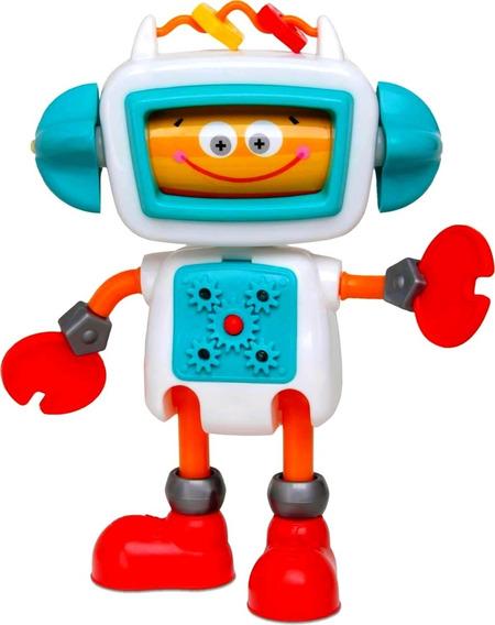 Boneco Roby Robô Infantil Fala Frases - Elka Brinquedos