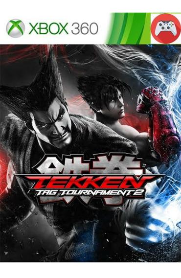 Tekken 2 E Tekken 6 Mídia Digital Xbox 360
