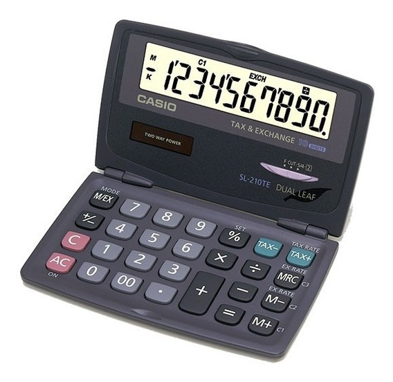 Calculadora Portátil Casio Sl-210te