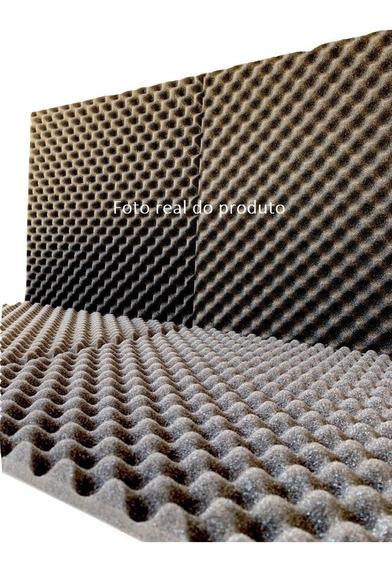 Espuma Acústica 50cm X 50cm X 2cm - Kit Com 50 Pçs Promoção