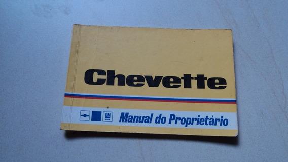 Chevette Manual Original 1979 Ótimo