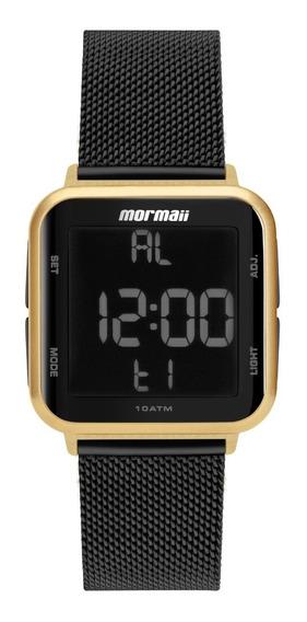 Relógio Mormaii Unissex Digi Dourado Mo6600ah/8p