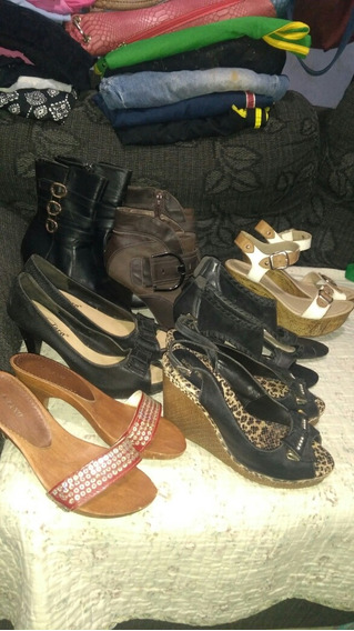 Lote De Sapatos Femininos