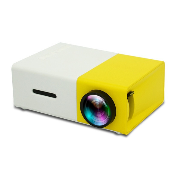 Mini Projetor Portátil Full Hd Led 600 Lumens Usb Sd Hdmi