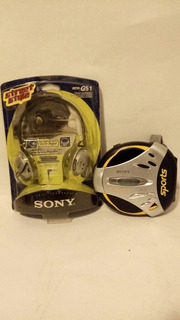 Discman Sony Sports Walkman Con Audifonosretro Vintage