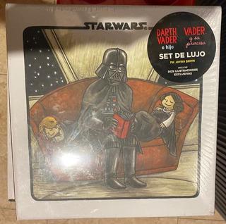 Set De Lujo Star Wars Darth Vader E Hijo Y Su Princesa
