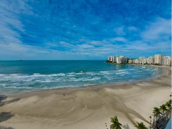 Guarujá Sp - Praia Das Astúrias - Frente Total Para O Mar - 2 Vagas - 4 Dormitórios Sendo 2 Suítes - Ap05236 - 68144688