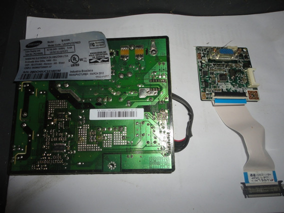 Monitor Samsung B1630n, Placas Principal E Da Fonte