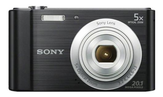 Câmera Sony Cyber-shot Dsc-w800 (preta)