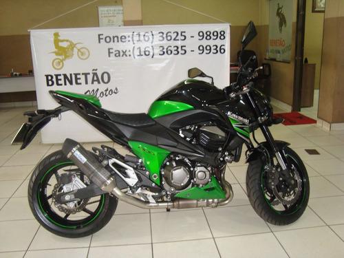 Imagem 1 de 12 de Kawasaki Z 800 Verde 2014