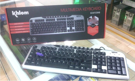 Teclado Español Computadora Pc Ps2 Alambrico Tecla Multimedi