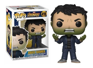 Funko Pop Bruce Banner 419 - Avengers Infinity War - Nuevo