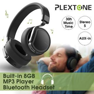 [8 Gb Memoria Del Jugador] Plextone Bt270 Encima -ear Estére