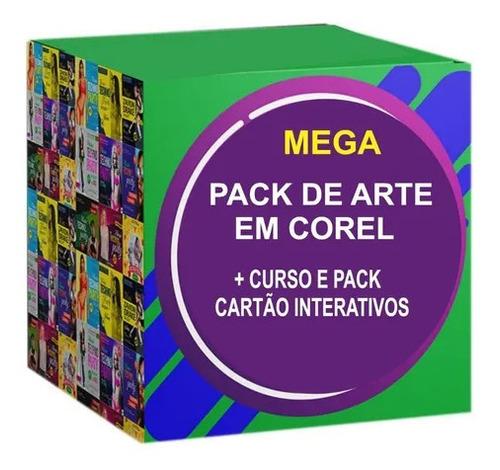Imagem 1 de 5 de Mega Pack Artes Para Corel Draw (lançamento)