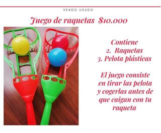 Juego De Raquetas Para Niños Usado