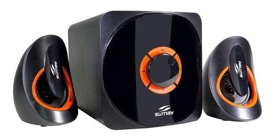 Sumay Caixa De Som 2.1 Smcs3313b Bluetooth Usb/fm