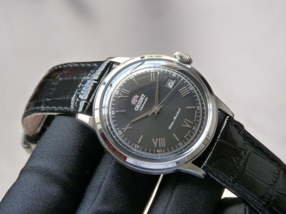 Relógio Orient Bambino Automático Importado Preto Social