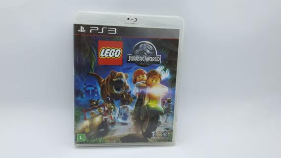 Lego Jurassic World - Ps3 - Mídia Física Cd Original