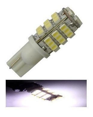 Kit 10 Lampada T10 42 Led Branca Pingo 6000k Atacado