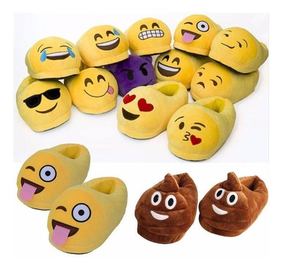 Pantuflas Emoticones